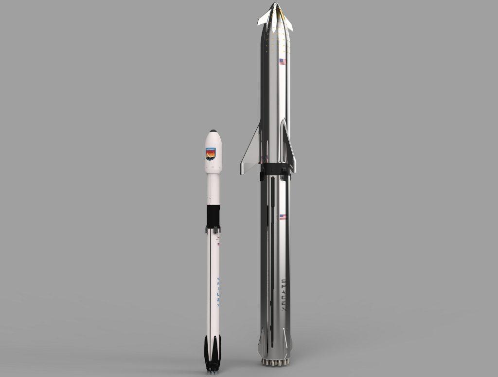 Starship VS Falcon 9 BFR
