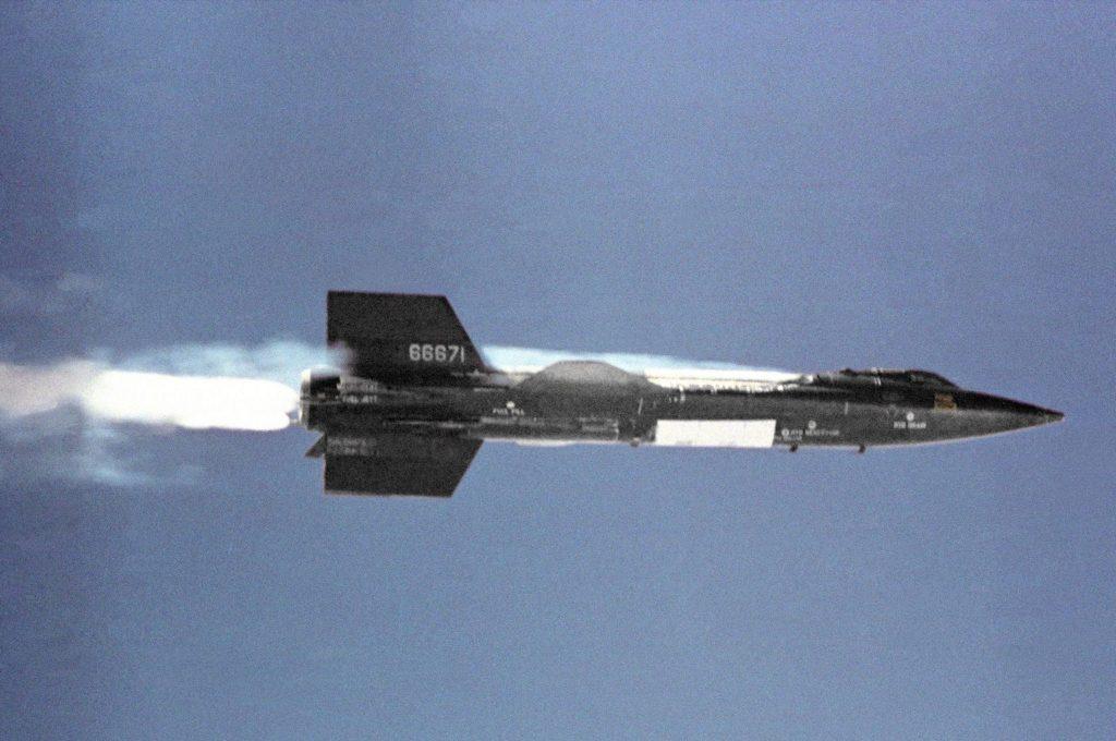 X-15 X15 in flight