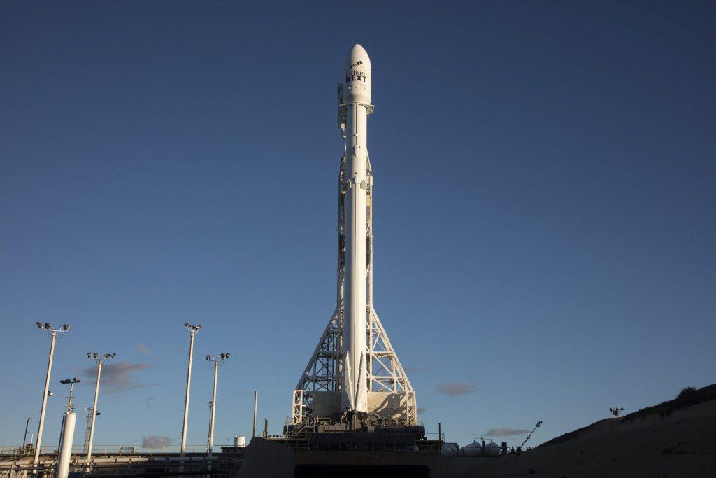 Iridium 1 (credit: Spacex)