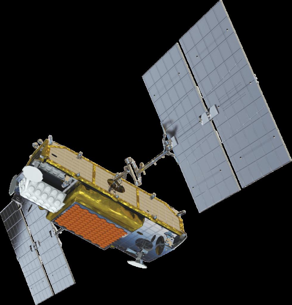 Iridium Next satellite (credit: Iridium Communications)