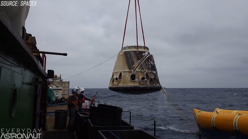 SpaceX Dragon Recovery
