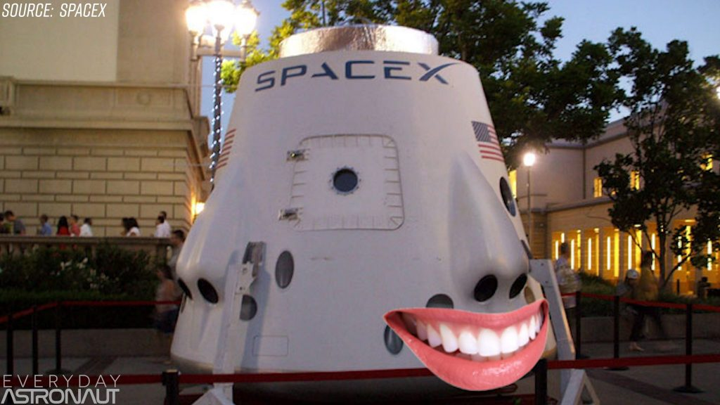SpaceX DragonRider nose