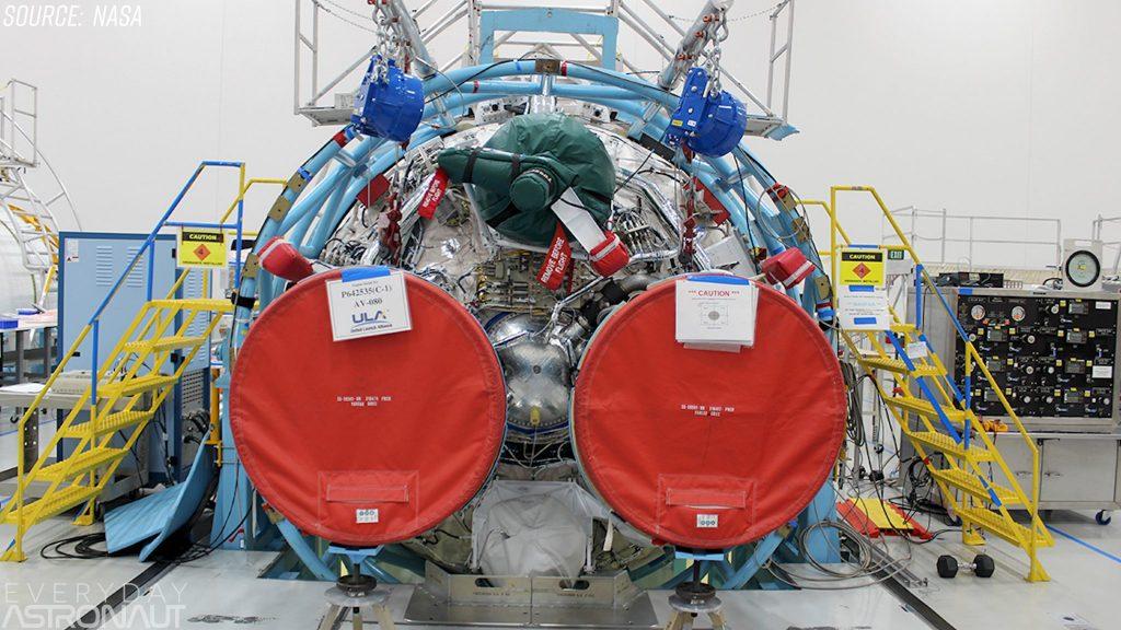 Dual engine centaur RL10 Boeing Starliner