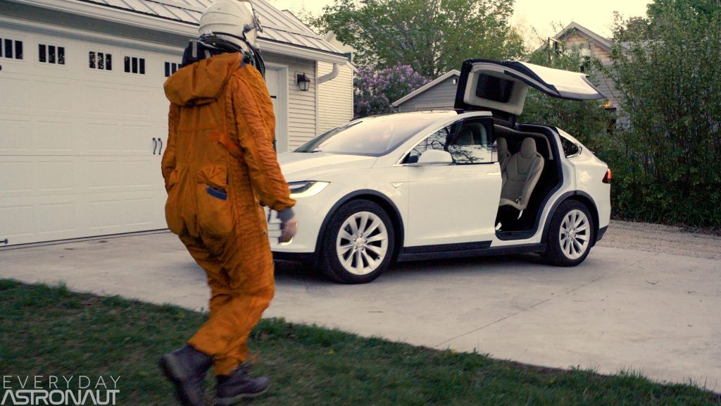 SpaceX Astronauts Tesla DM-1