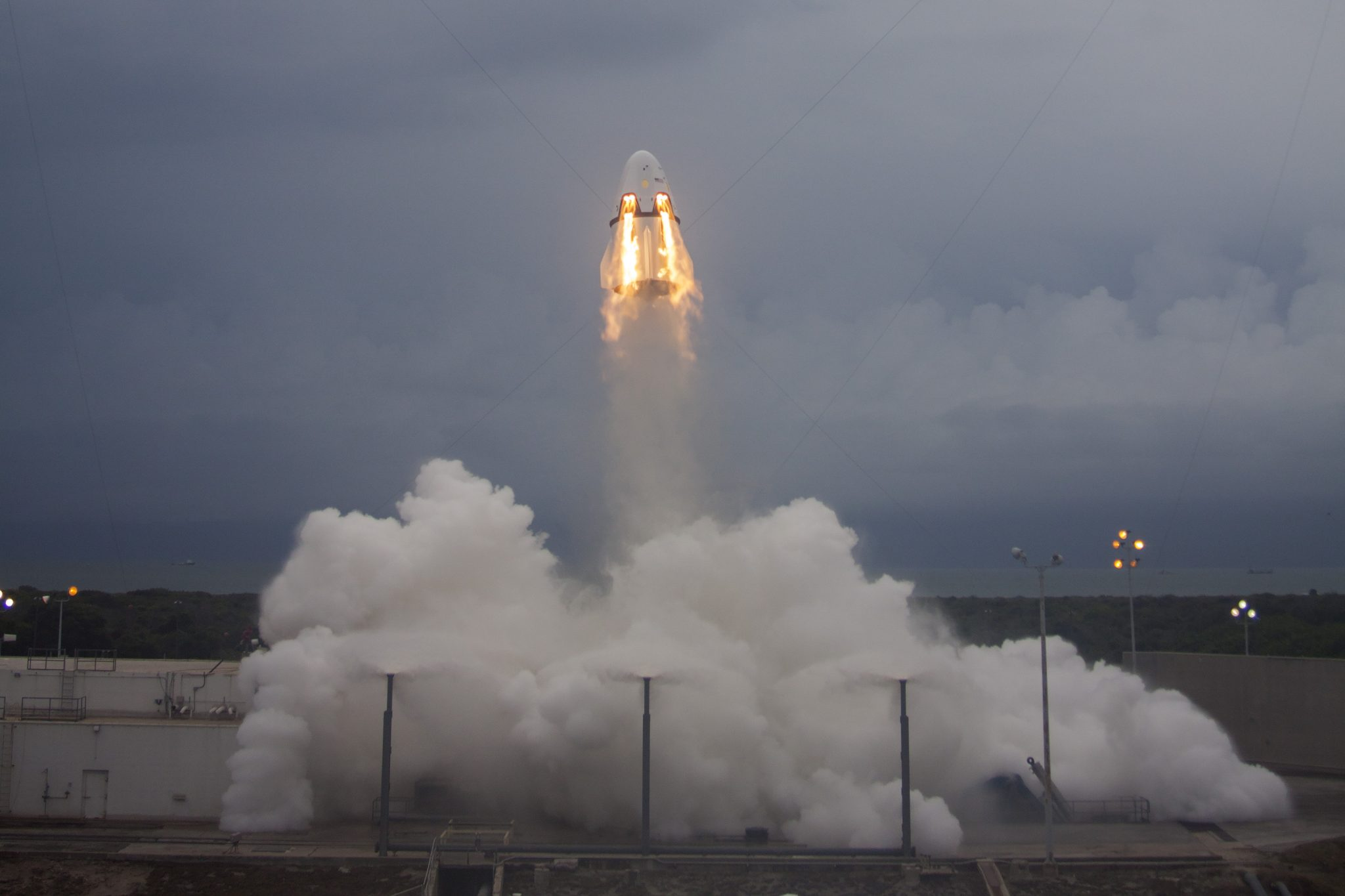 SpaceX, Crew Dragon, Pad Abort Test