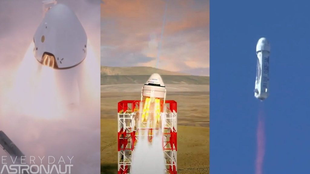 Why have SpaceX, Boeing & Blue Origin ditched abort towers? Liquid fuel hypergolic launch abort system escape tower anomaly