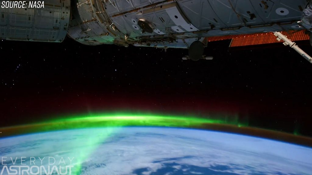 ISS aurora orbit