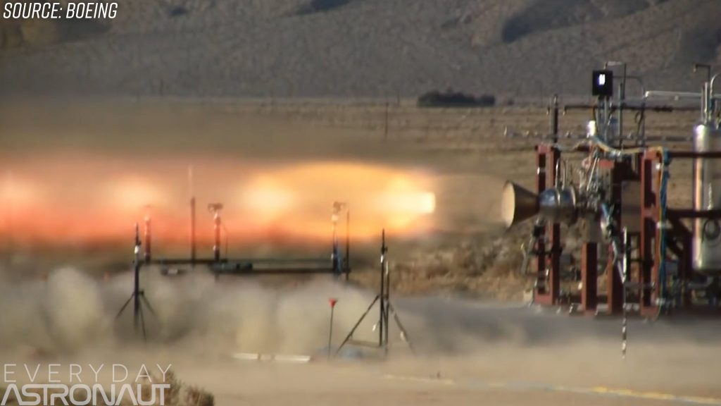 Boeing launch abort motors RS-88 bantam motors escape rockets thrusters