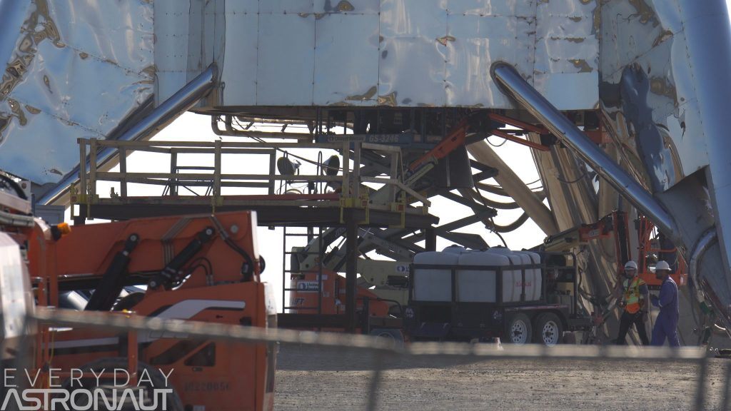 SpaceX Starhopper raptor engine boca chica everyday astronaut