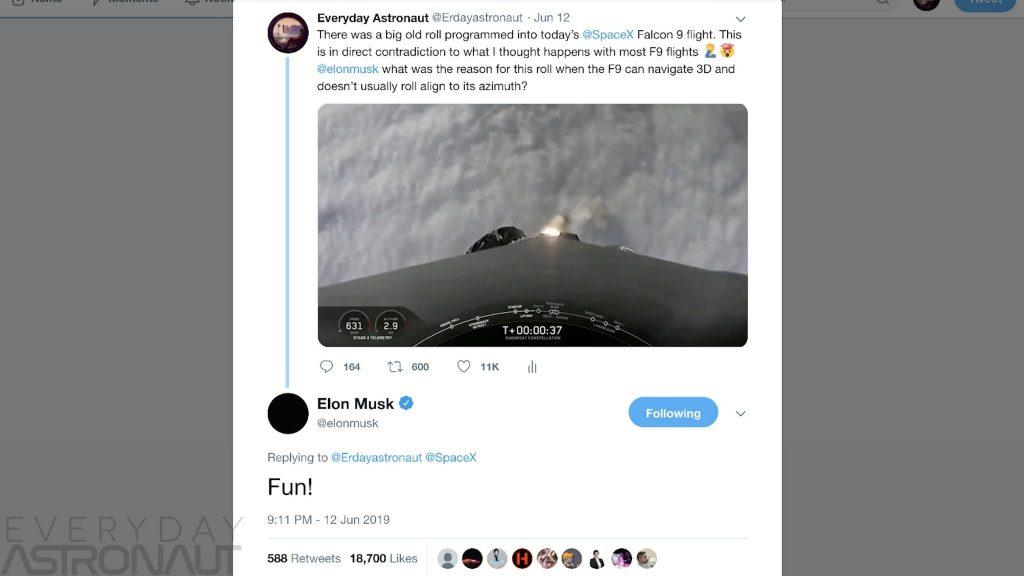 Elon musk troll Tim Dodd