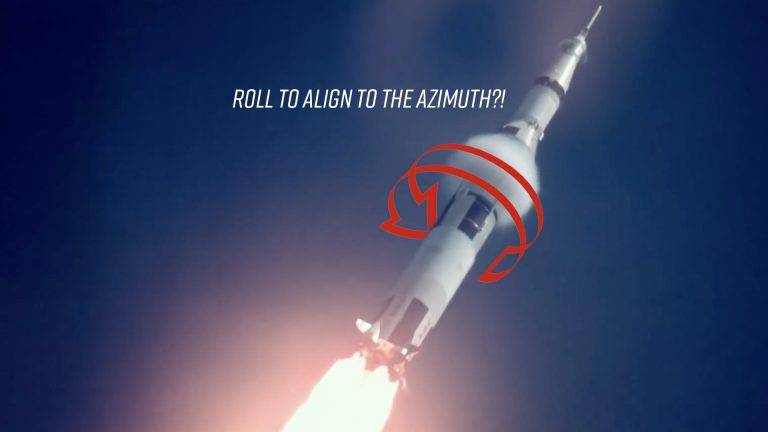 Why do rockets roll