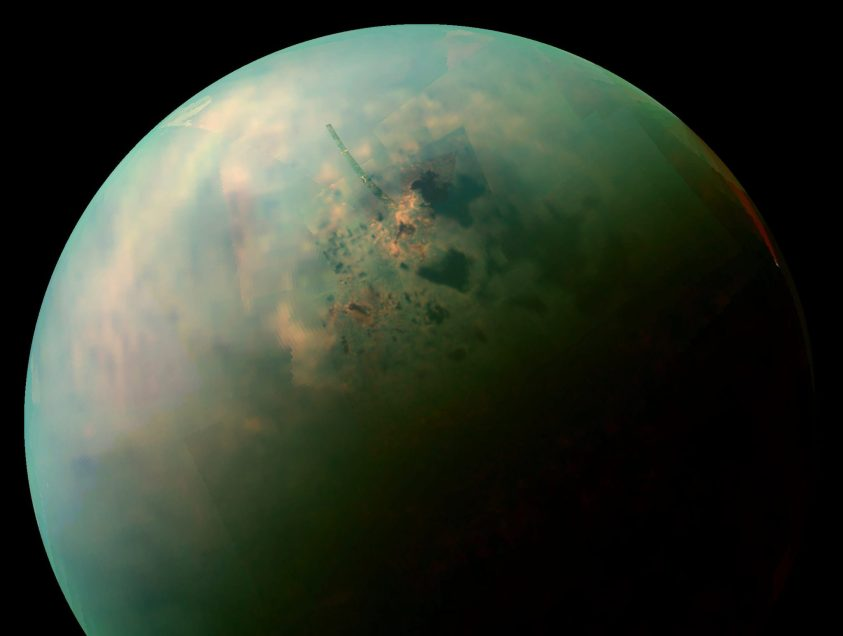 Alaska is helping scientists measure the possibility of life on Titan