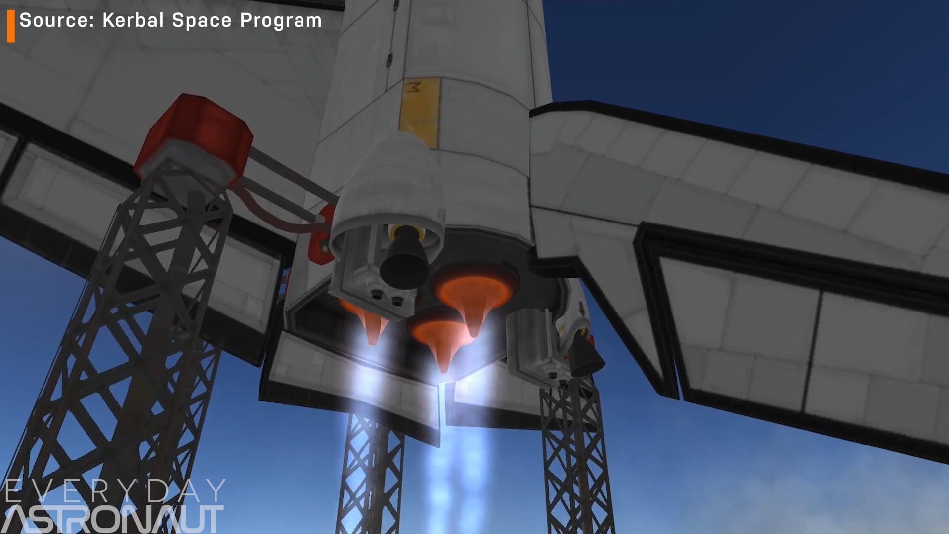 Spaceshuttle with aerospikes