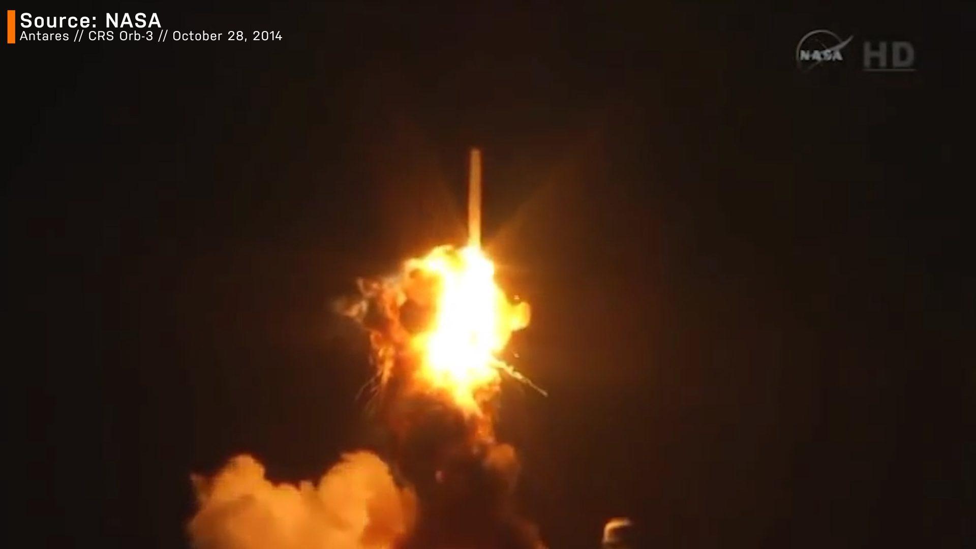 Antares failure