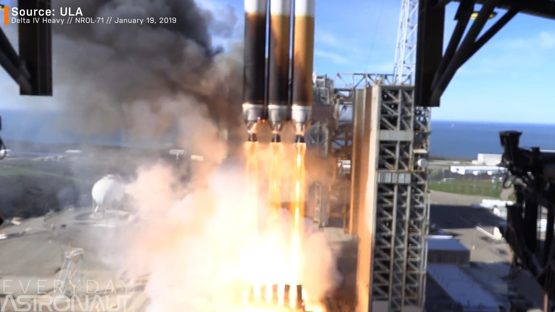 Delta IV Heavy ablative cooling
