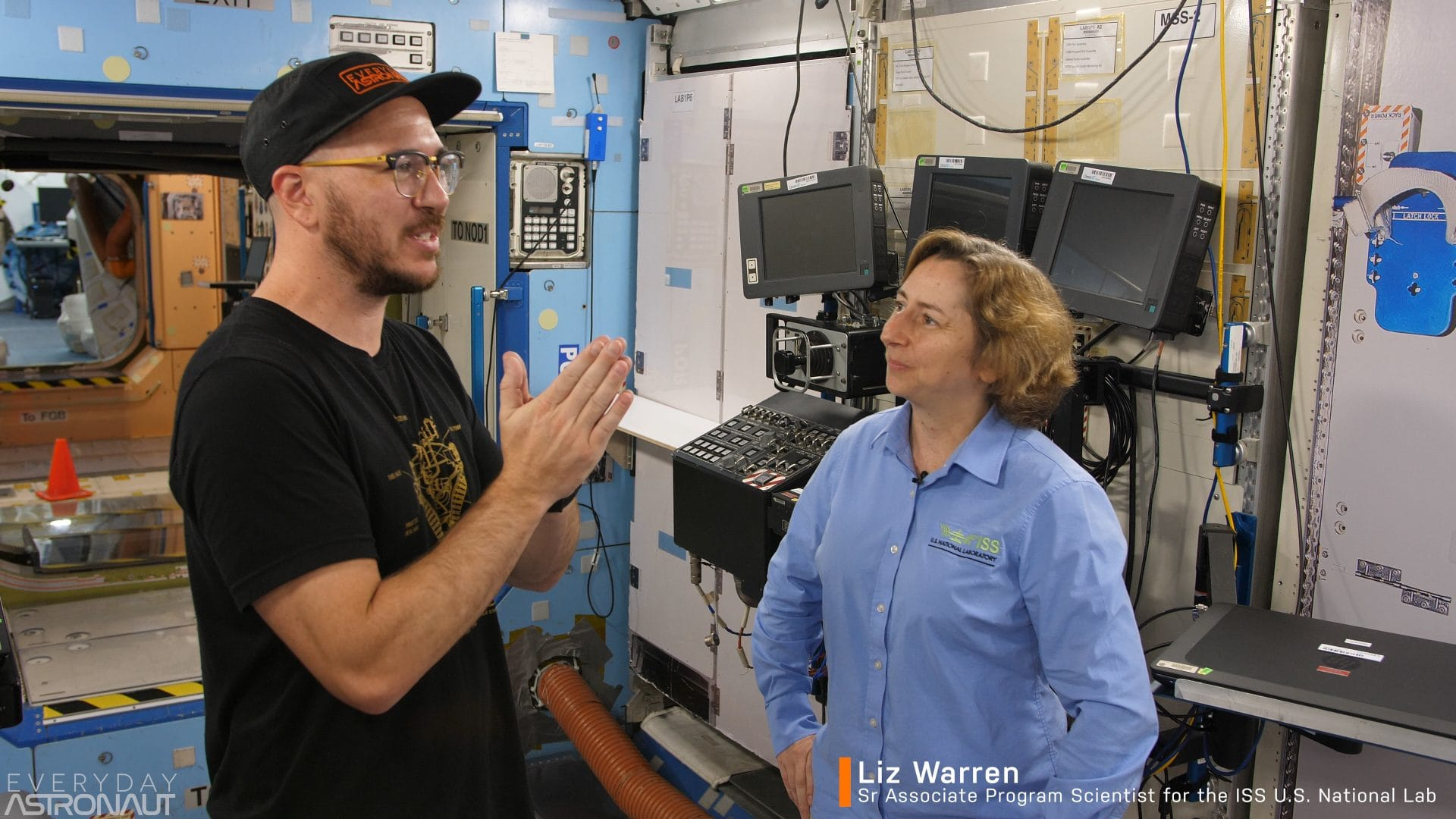 Tim Dodd Everyday Astronaut Liz Warren NASA ISS