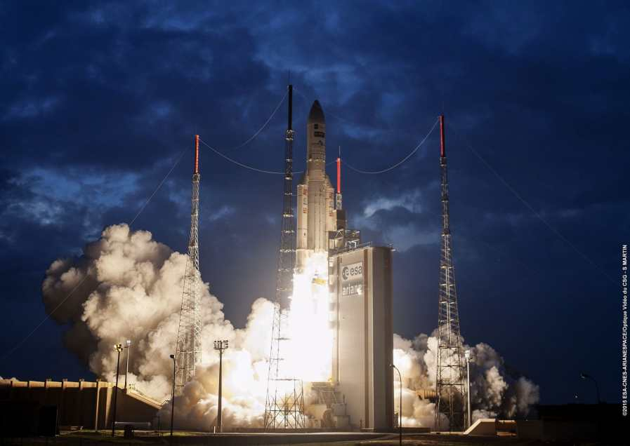 Ariane 5 ECA | TIBA-1 & Inmarsat-5 F5 (Global Xpress-5)
