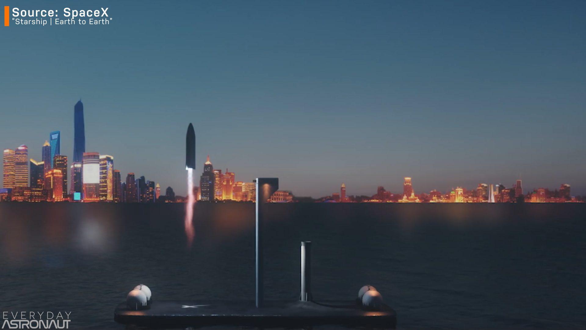 Starship landing