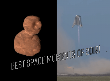 Ultima Thule and StarHopper 150 m flight - Best Space Moments Of 2019!