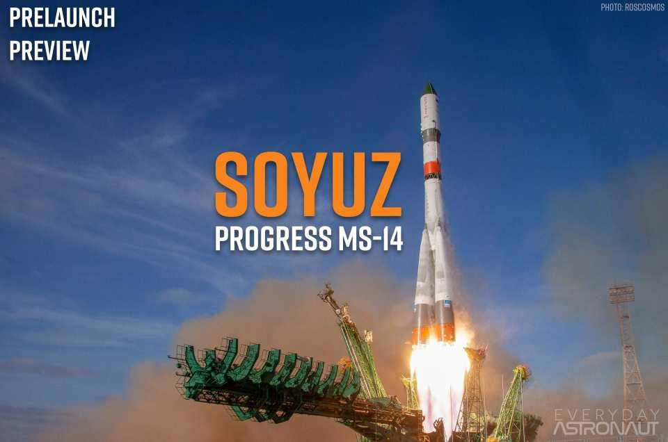 Progress MS-14 (75P) | Soyuz 2.1a