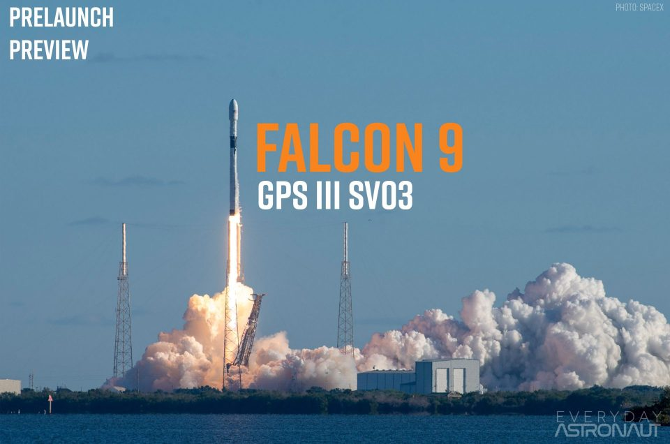 GPS Block III SV03 | Prelaunch Preview