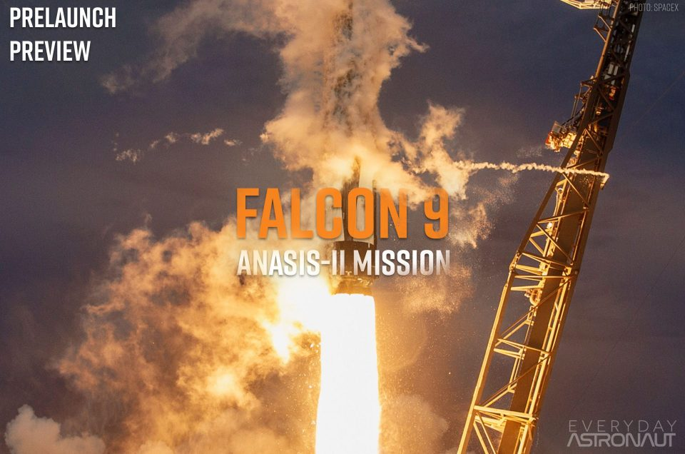 ANASIS-II | Falcon 9 Block 5