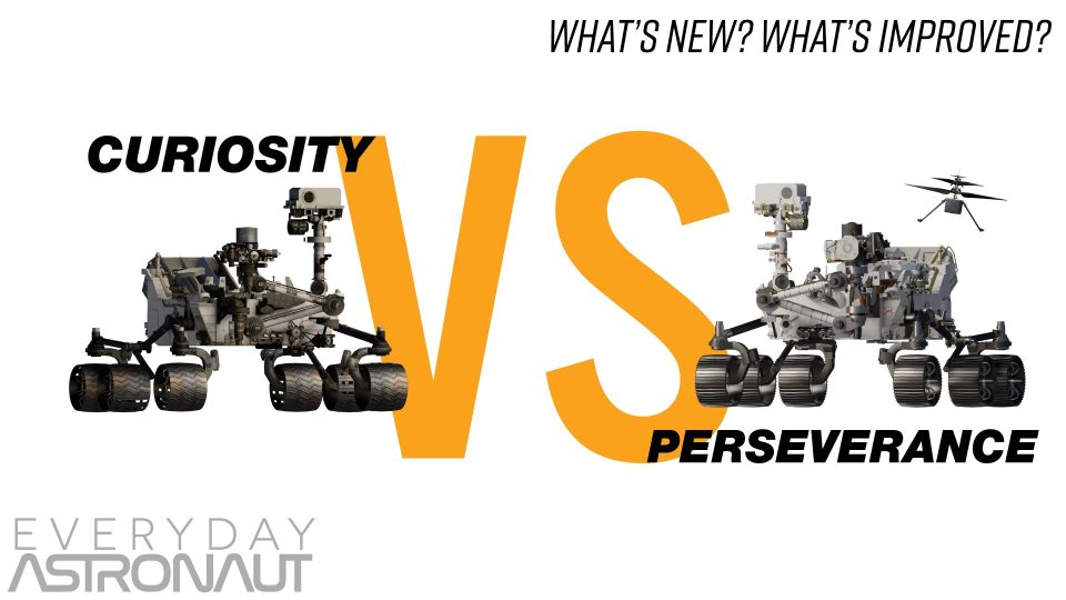 Perseverance VS Curiosity – What's New?