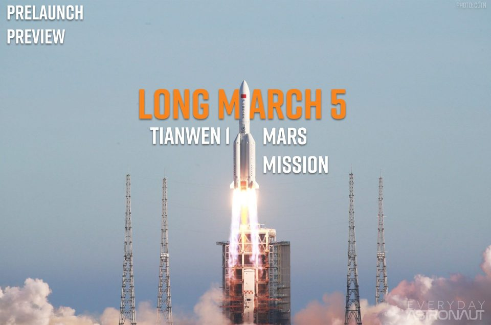 Tianwen 1 | Long March 5 | Prelaunch Preview
