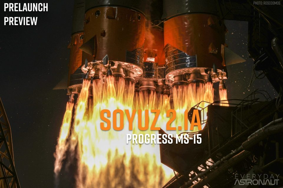 Progress MS-15 (76P) | Soyuz 2.1a