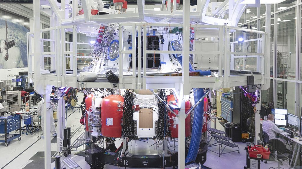 Crew Dragon propellant tanks (Crew-1 spacecraft)