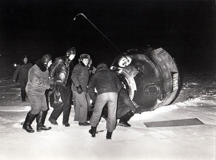 Soyuz 23 recovery effort