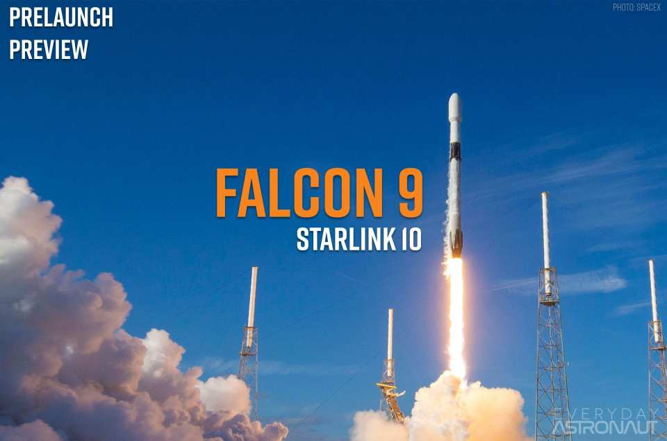 Starlink 10 | Falcon 9 Block 5