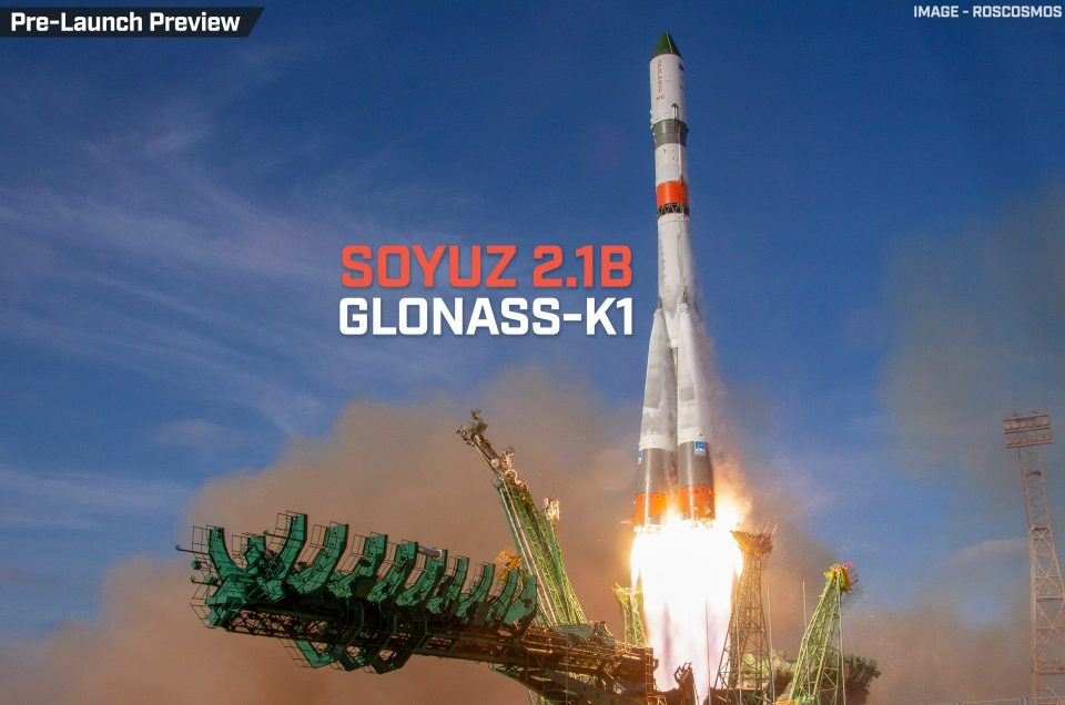 GLONASS-K1 | Soyuz 2.1b/Fregat