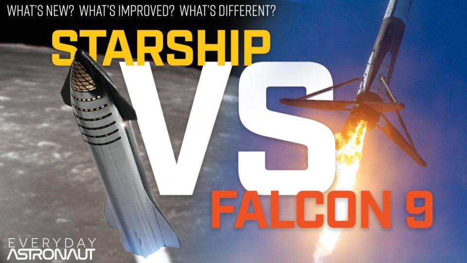 The Definitive Guide To Starship: Starship vs Falcon 9, what's new and improved?