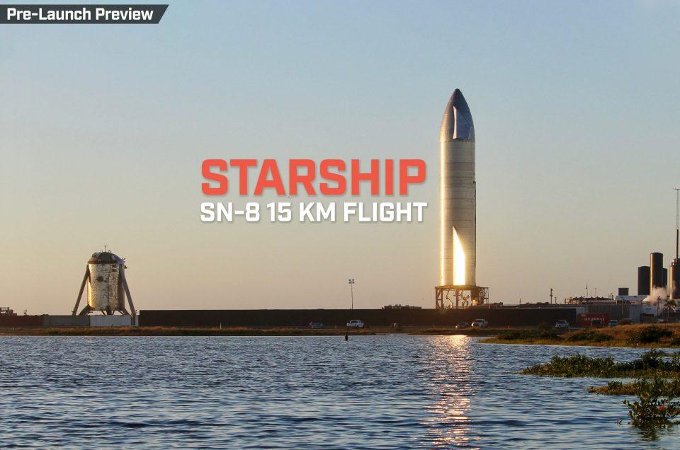 Starship SN8 | 15-kilometer hop