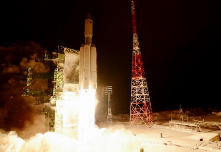 Previous Angara A5 launch