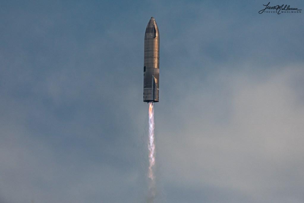 SN10 ascent