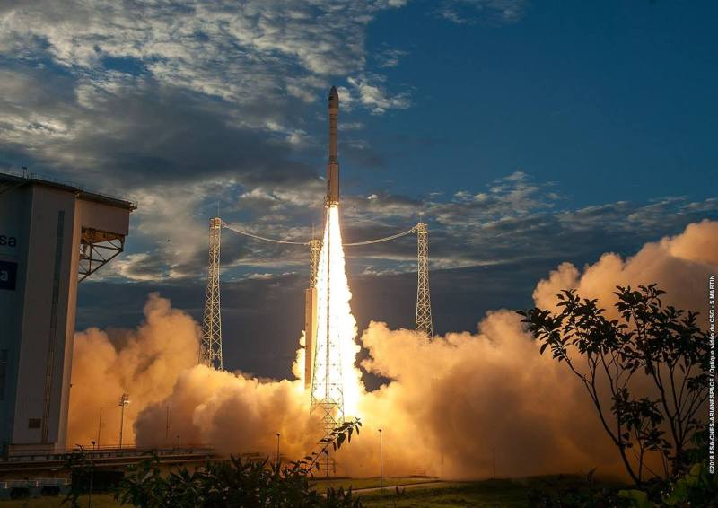 ESA Vega launching