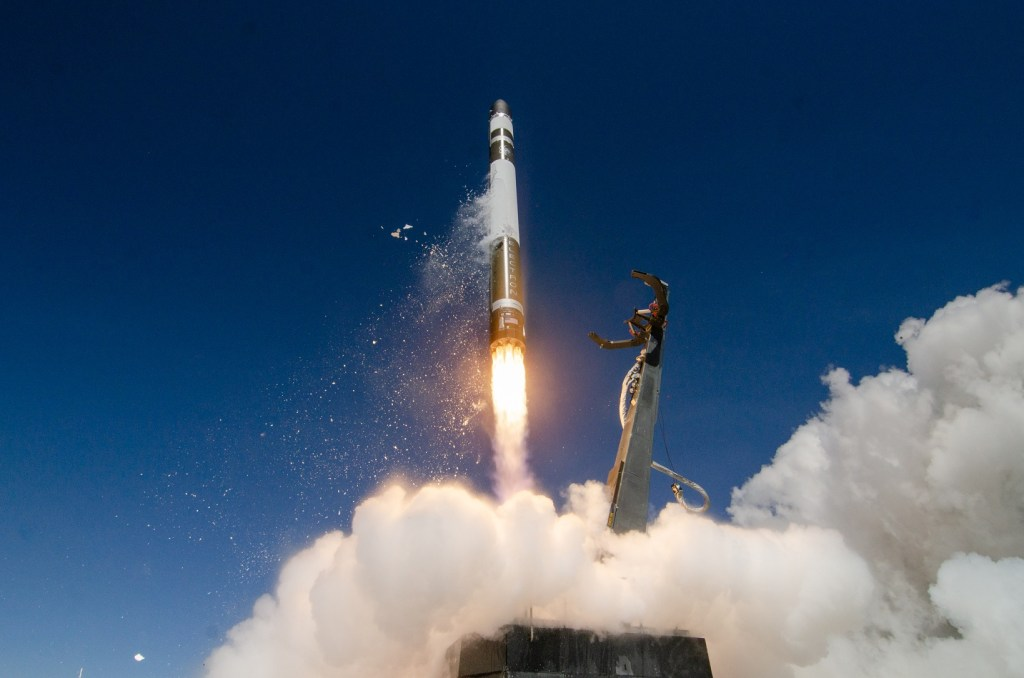 Electron small sat launcher