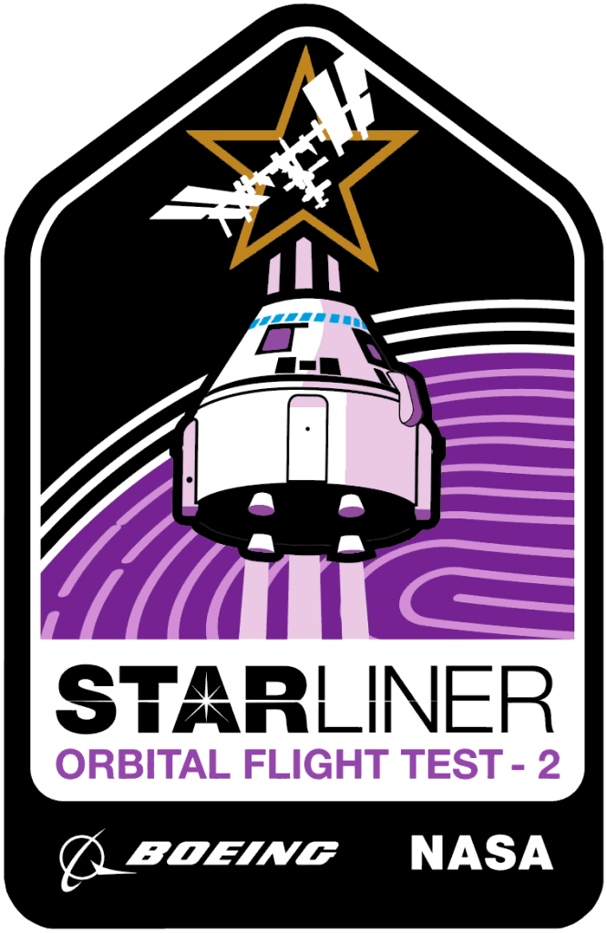 OFT-2, CST-100 Starliner, Mission Patch