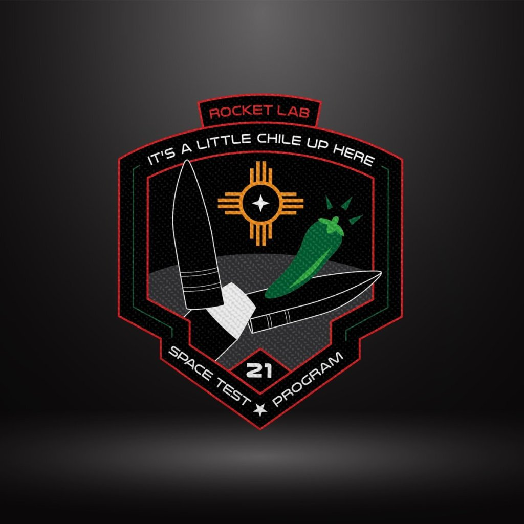It's a Little Chile Up Here, electron, rocket lab, Mission Patch