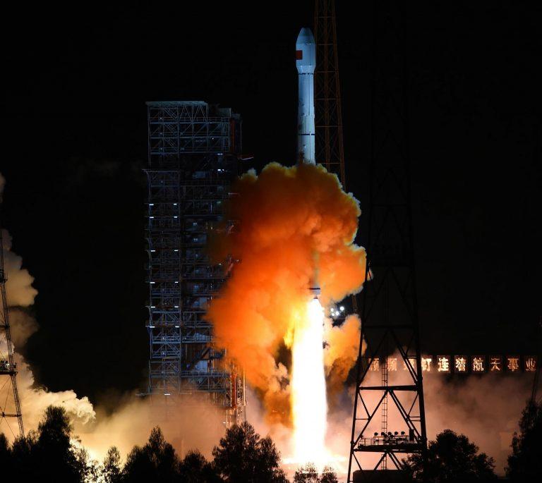 Long March 3C launches the Tianlian 1-04
