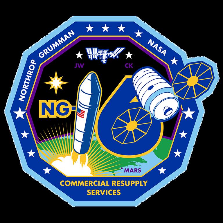 Northrop Gumman's NG-16 mission patch