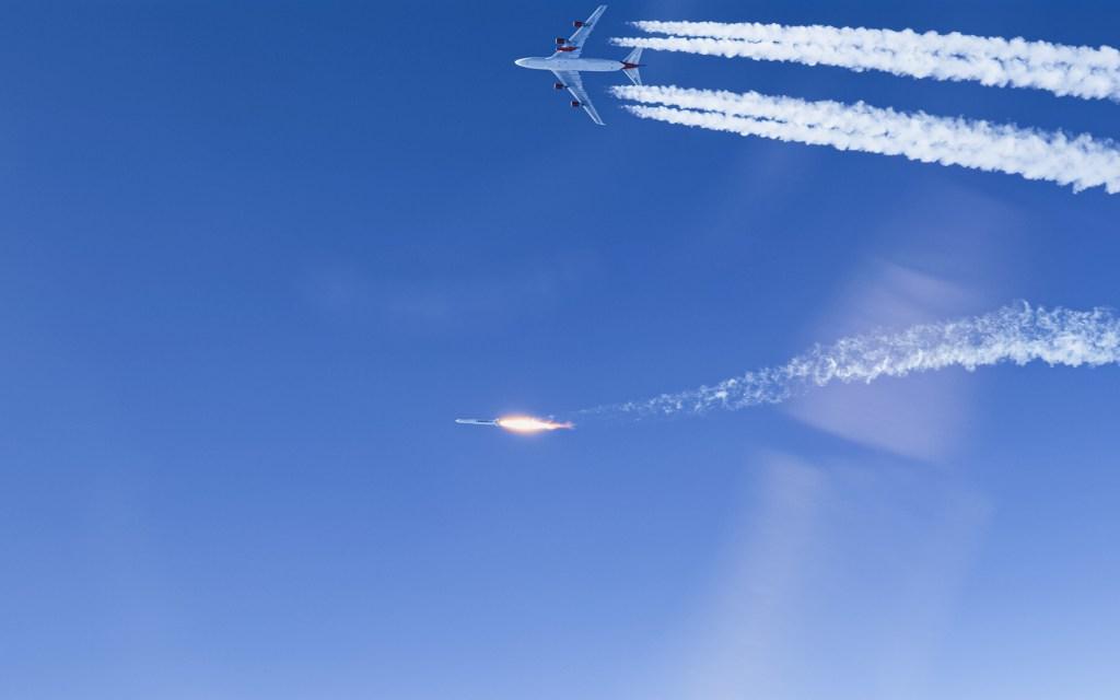 LauncherOne NewtonThree engine ignition, Virgin Orbit
