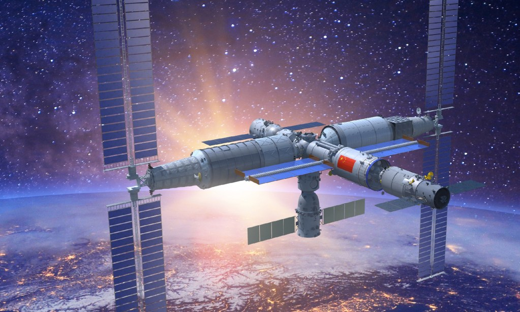 The Tiangong 3 space station, the Tianhe core module
