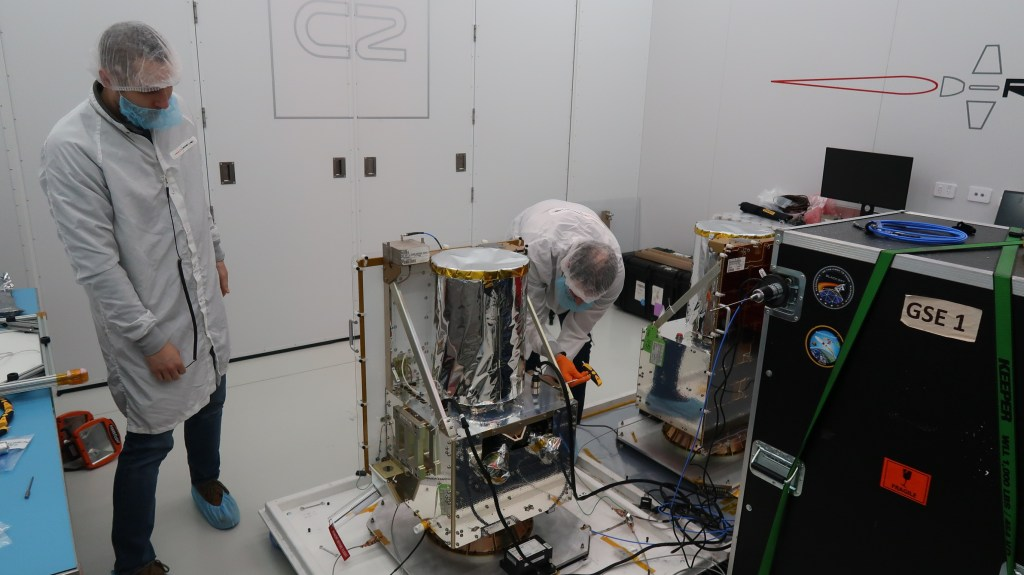 BlackSky's two microsatellites