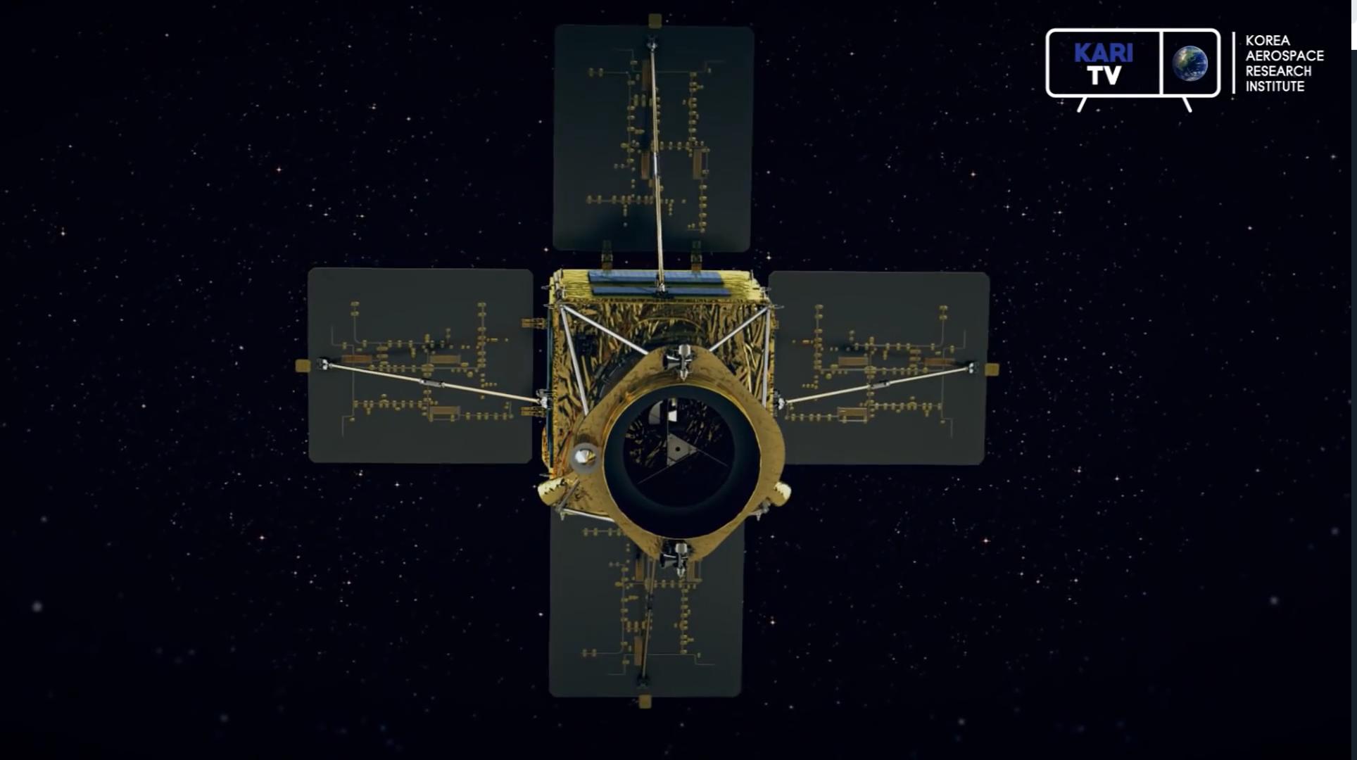 CAS500 satellite