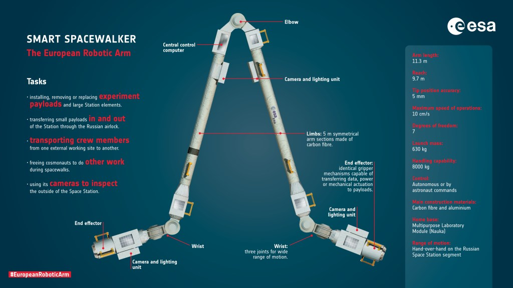 The European Robotic Arm