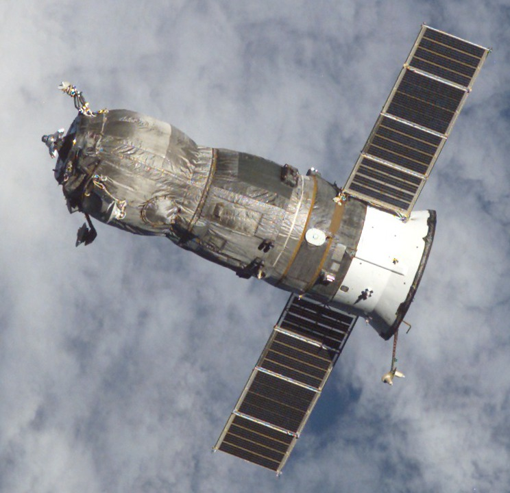 Progress M-47 departing the ISS