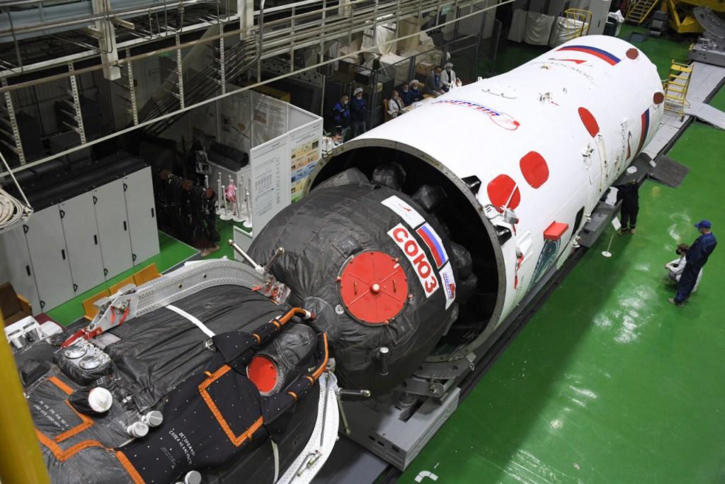 The Soyuz MS spacecraft, Soyuz MS-19 mission